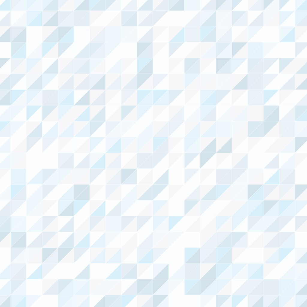 Color of ice trangle geometric pattern