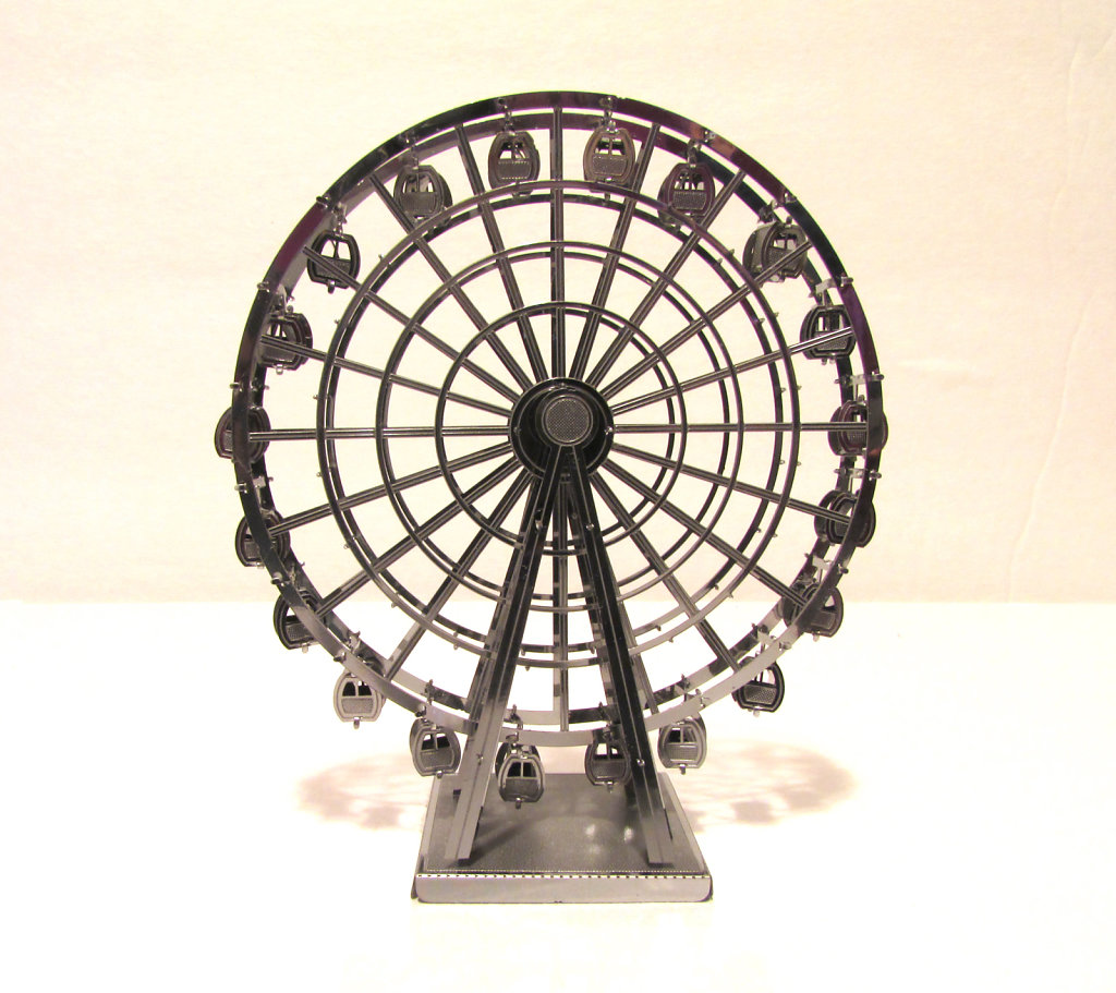 Metal ferriswheel model picture