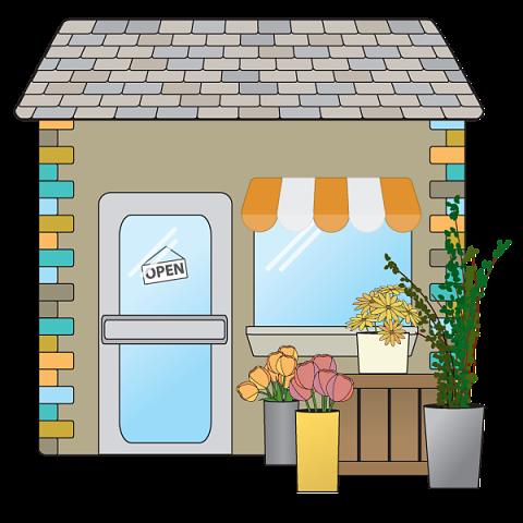 Image result for flower shop clipart