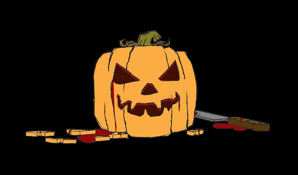 Carved Pumpkin transparent background