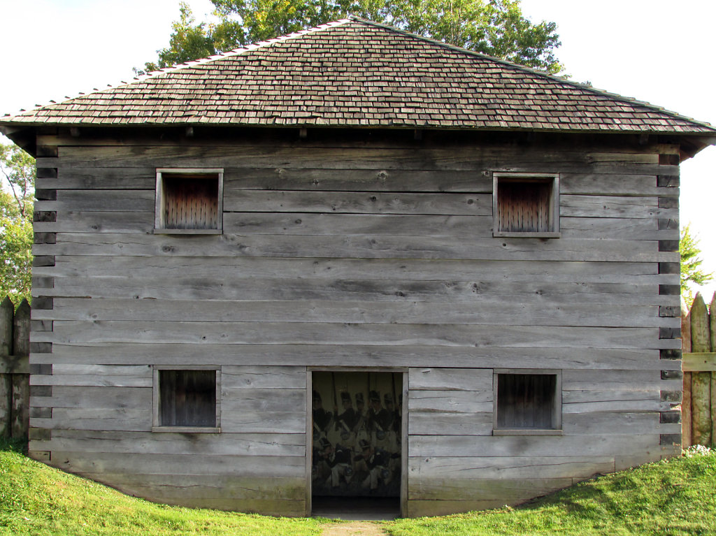 Block house at fort meigs