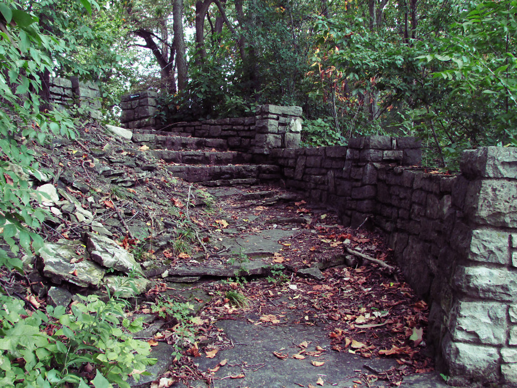 Picture of a path with steps