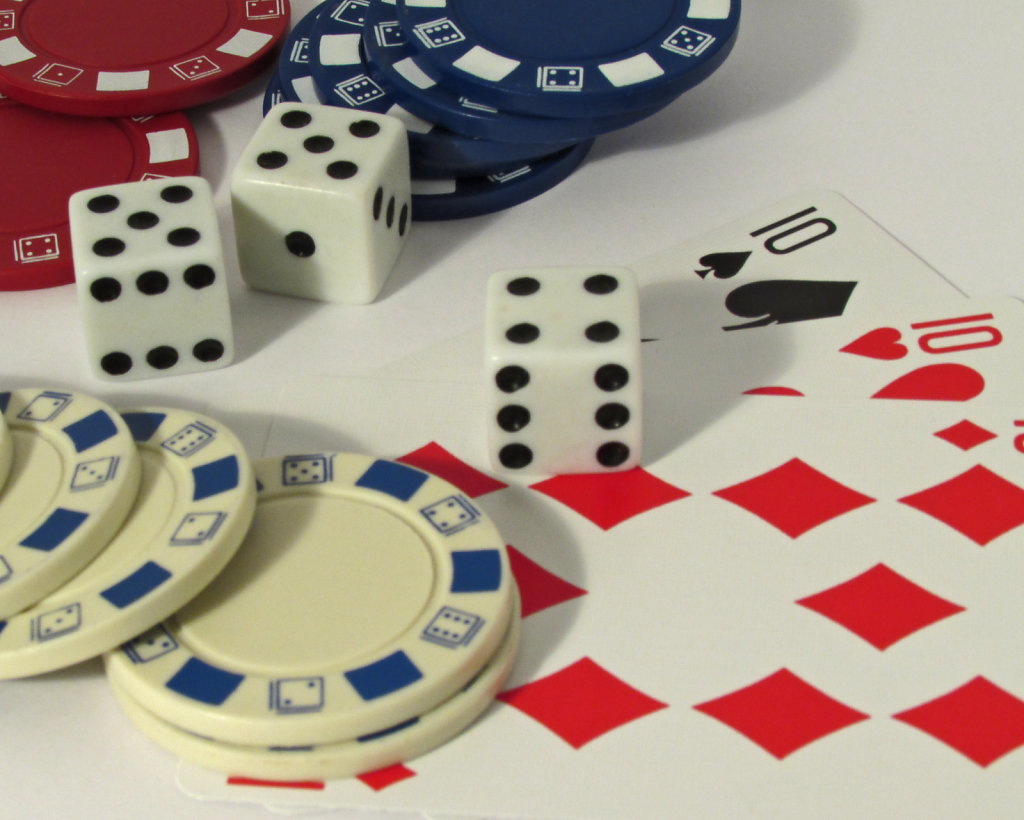 Chips Dice and Cards