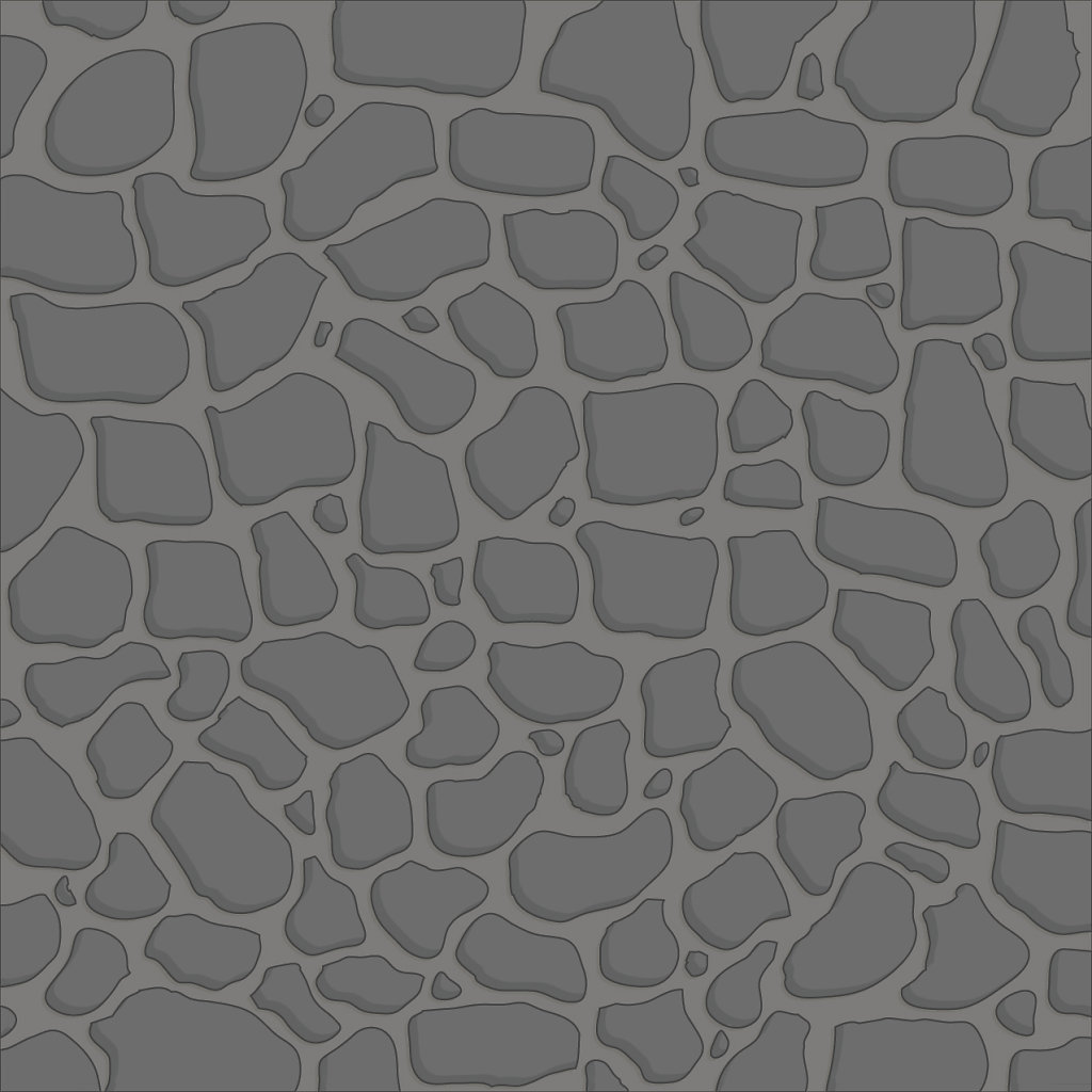 Dark gray and stone 4x4 tile