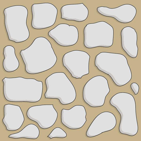 Sand stone 2x2 basic path tile